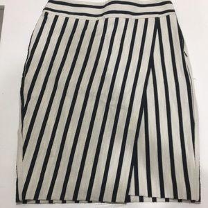 Striped LOFT skirt